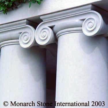 Texas Limestone Columns