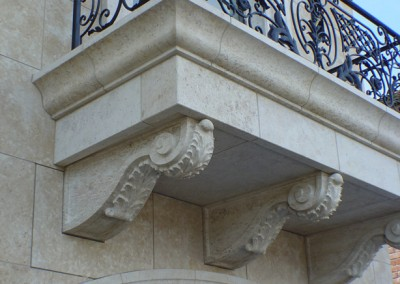 French-Limestone-Balcony