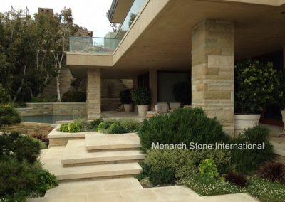 French Limestone, Santa Barbara Sandstone-