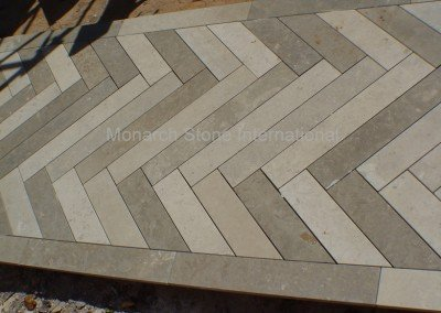 17-French limestone Limeyrat, Dalle de France, flooring