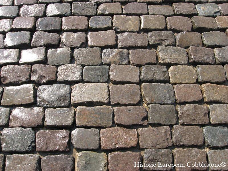paver in antique reclaimed cobblestone