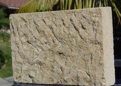 25-Santa Barbara Sandstone chisel face