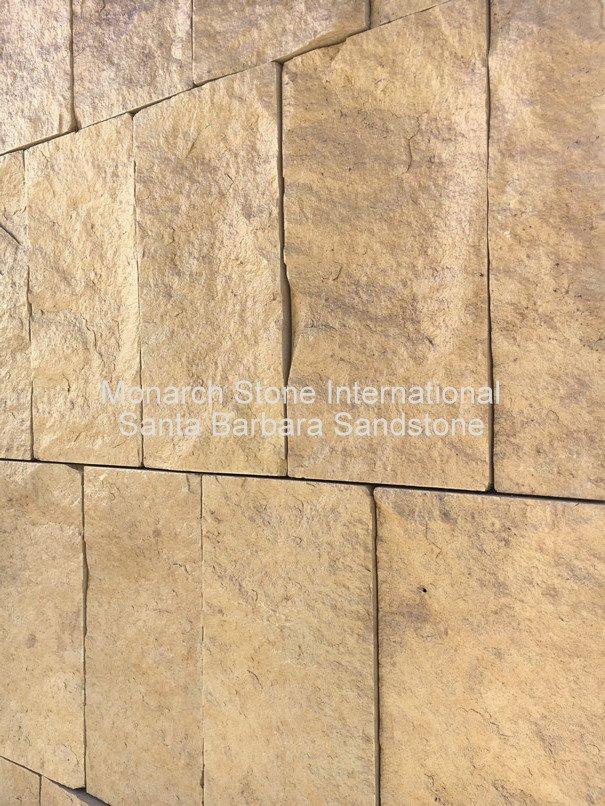 Attrayant 28 Santa Barbara Sandstone Veneer Split Face_sawn Sides 02