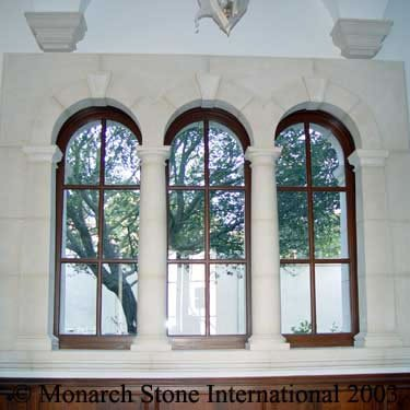12-French Limestone, St Remy Clair, Window Surround