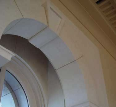 18-French Limestone, St Remy Clair, Window Surround