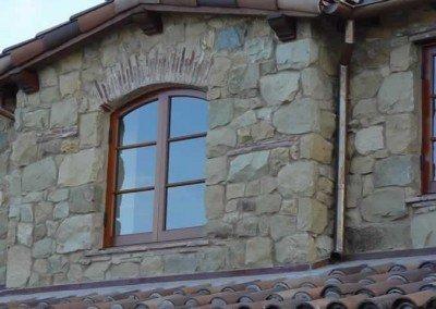 Santa Barbara Sandstone Rubble Veneer