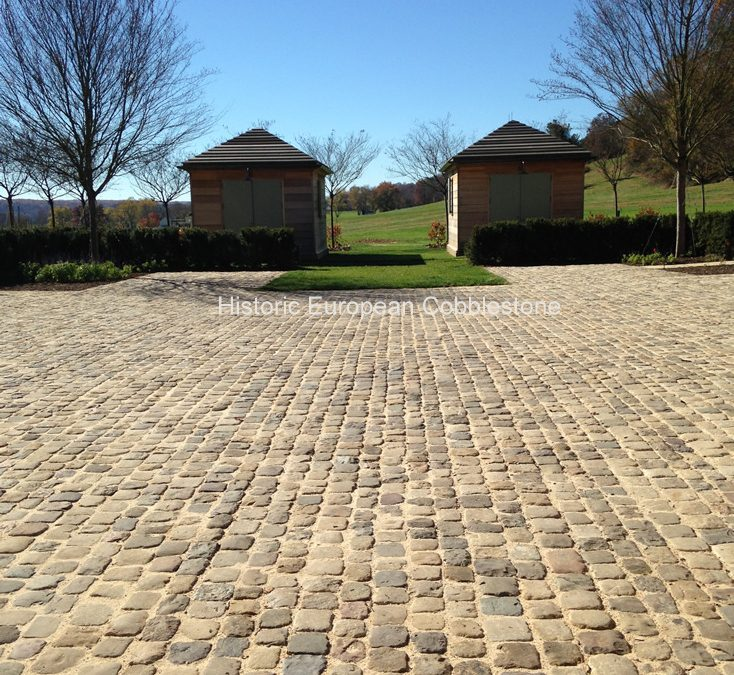 Using Reclaimed Cobblestone Beneficial to Environment