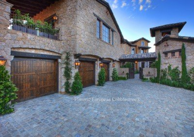 28-Antique Sandstone Cobblestone 6x6