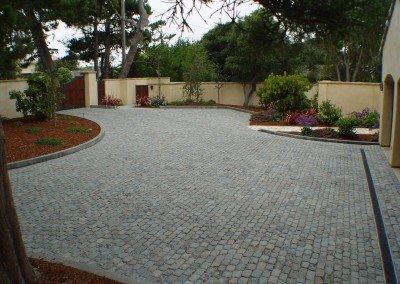 46-Historic European Cobblestone Granite 5x8