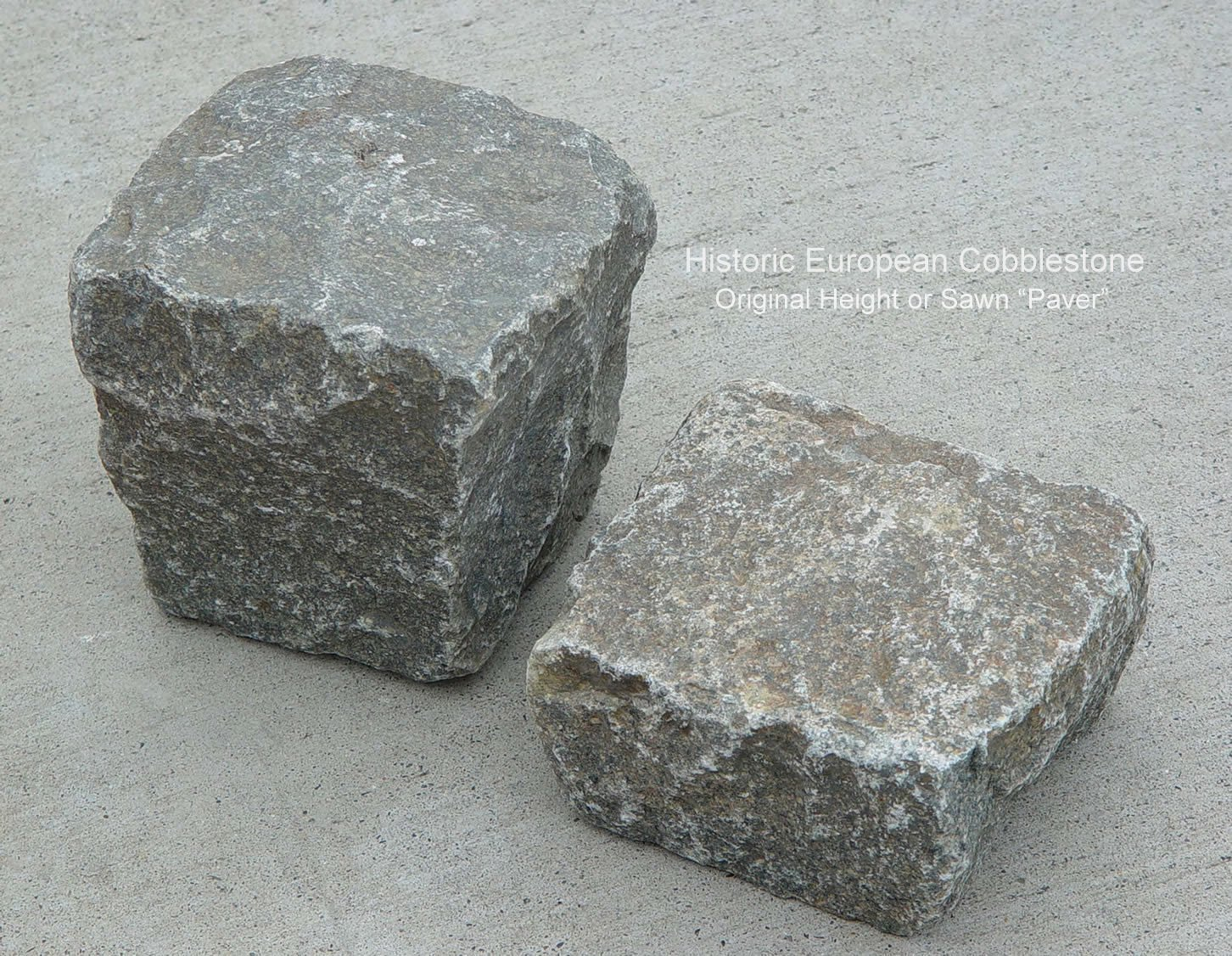 02-Antique Granite Cobble Full Sawn