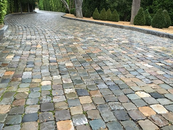 Cobblestone and Sandstone Bring a Slice of History To Homes