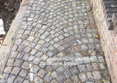 73-Antique Sandstone Mosaic Cobblestone