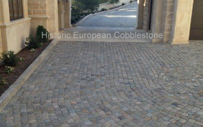 Old, Used Cobblestone is History Beneath Your Feet!