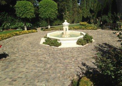 45-Historic European Cobblestone Sandstone Mosaic