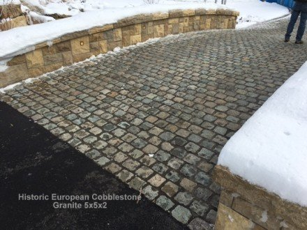 Snow Removal Tips For Cobblestone Driveways