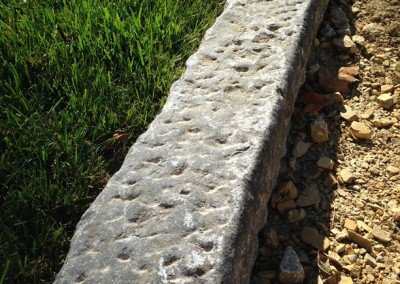 Antique European Limestone Curb -6