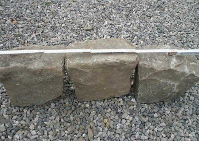 04-Antique European Granite Curb