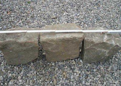 04-Antique European Granite Curb