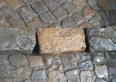 Antique European Granite Curb -2