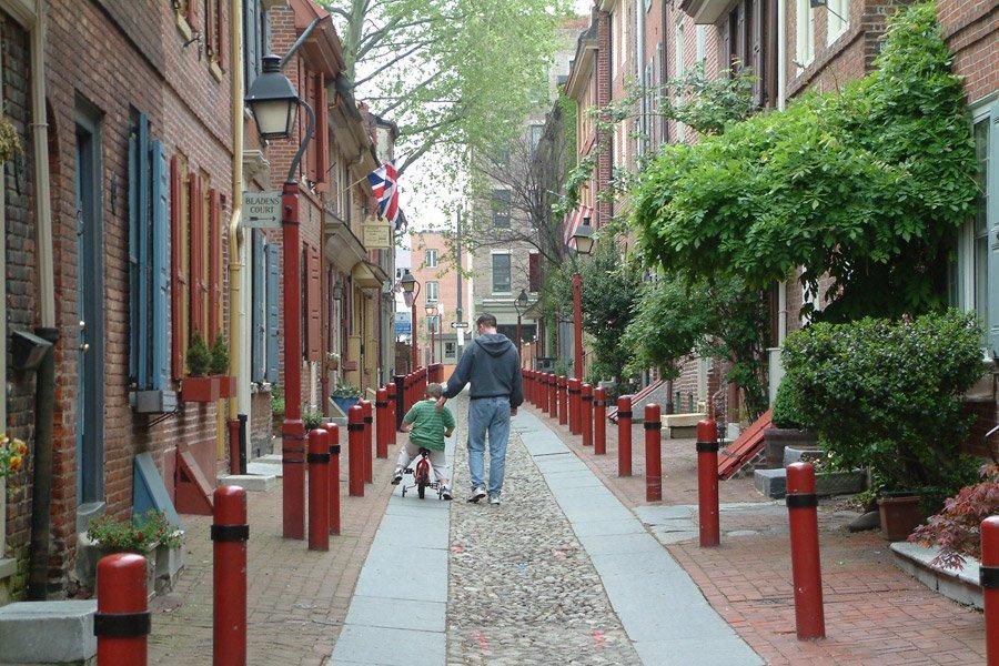 Cobblestone Streets – Philadelphia PA