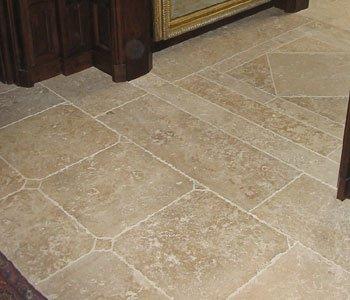 French Limestone Floor-08