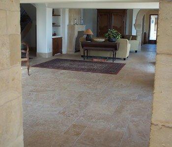 French Limestone Floor-09