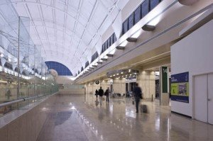 Airport Terminal Features Natural Stone
