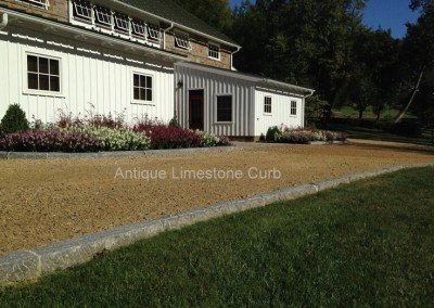 08-Antique Limestone Curb