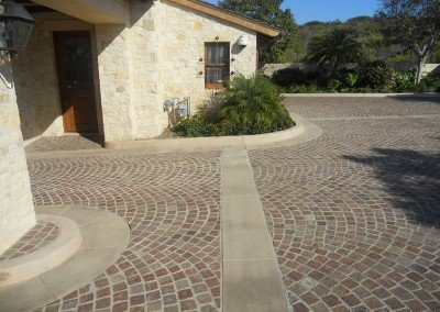 15-Porphyry Cobblestone Pavers, Headlands