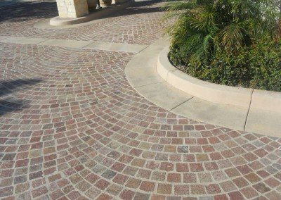 13-Porphyry Cobblestone Pavers, Headlands