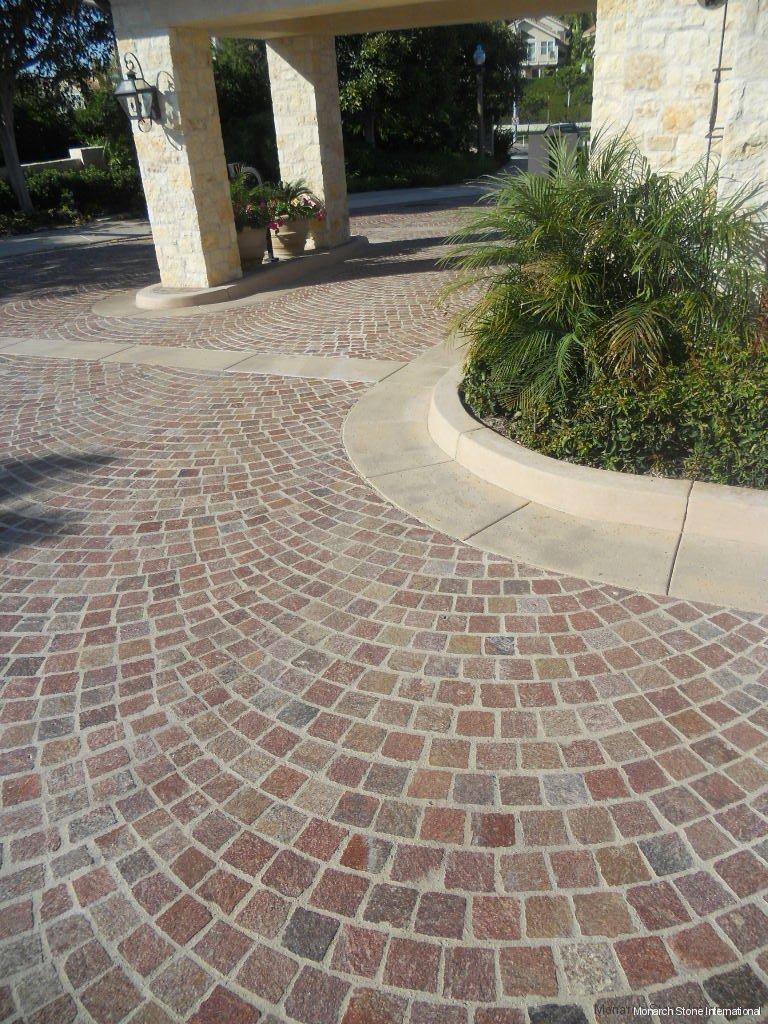Granite Cobblestone Pavers : Cobblestone pavers