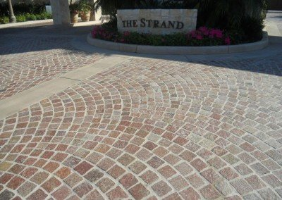 14-Porphyry Cobblestone Pavers, Headlands