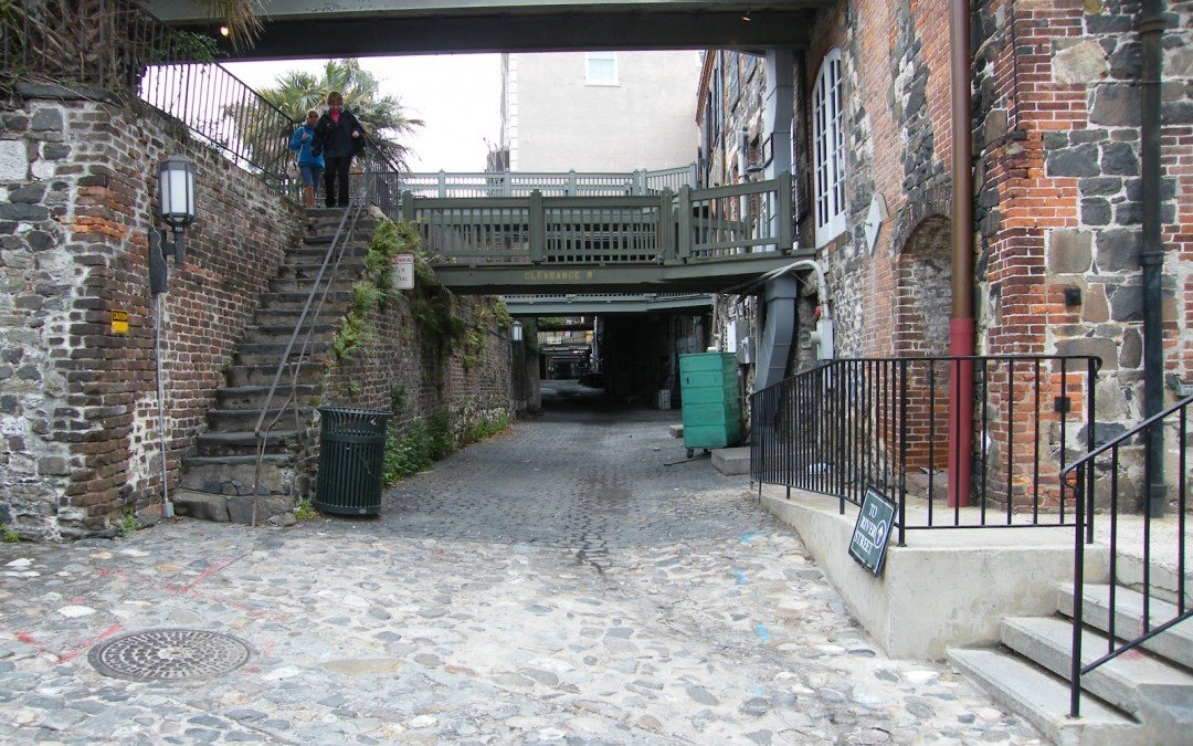 Cobblestone Streets – Savannah Georgia