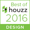 2016 Best of Design Award on HOUZZ!