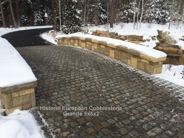 Snow Removal Tips For Cobblestone Driveways!