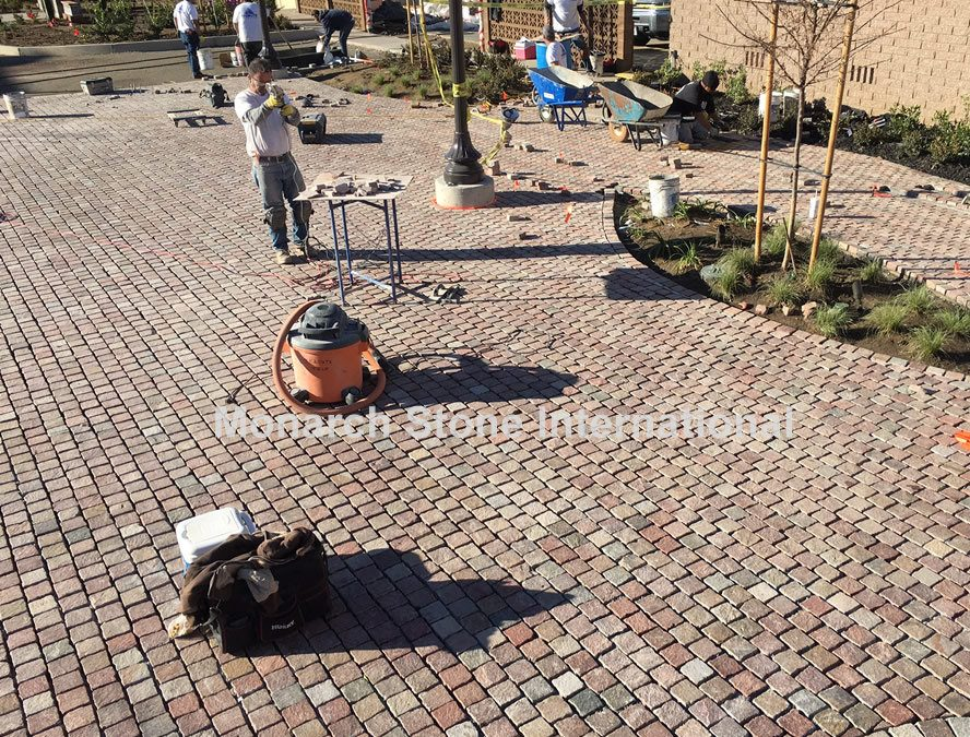 Porphyry Stone Pavers, Versatile and Enduring