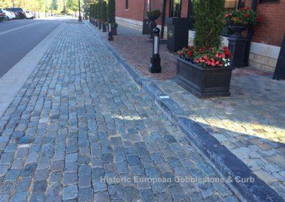 63-Antique Reclaimed Cobblestone & Curb