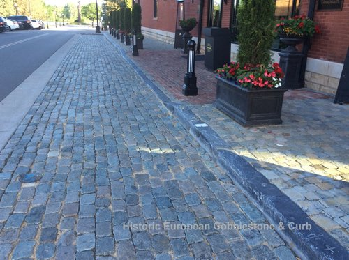 Historic Hotel and Historic European Cobblestone – Perfect Match!