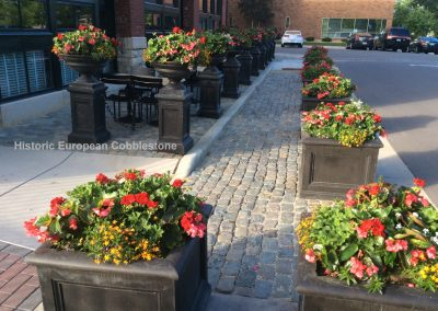 62-Antique Reclaimed Cobblestone & Curb