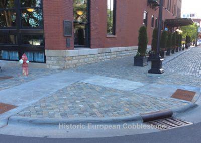 65-Antique Reclaimed Cobblestone & Curb