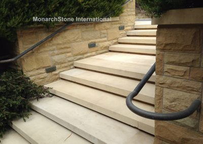 Texas Lueders Stair-Santa Barbara Sandstone
