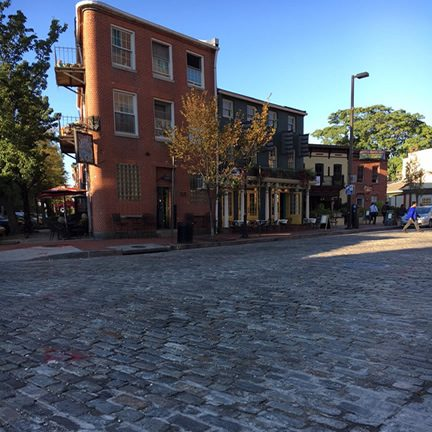 Cobblestone Streets – Fells Point, Maryland