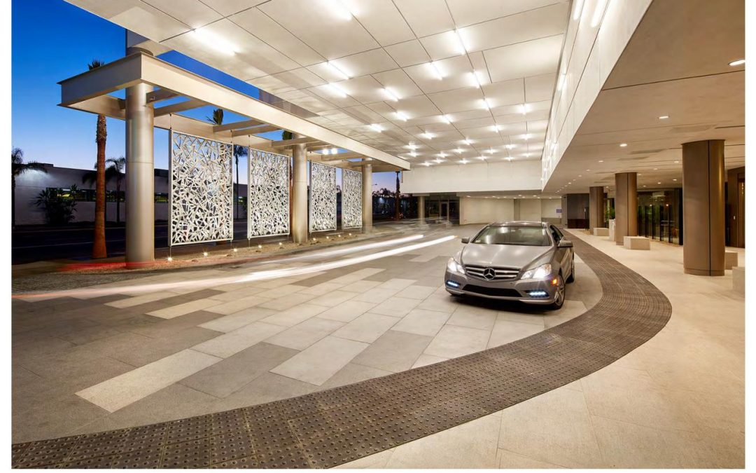 Hotel Project Chooses Granite Paving Stone