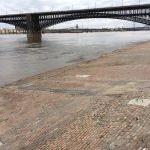 St Louis Cobblestone Streets - Mississippi Riverfront