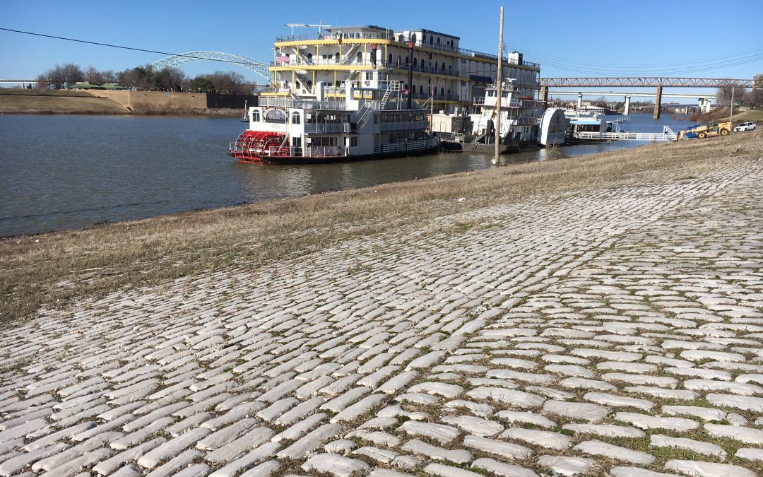 Walking on History at Memphis Riverfront