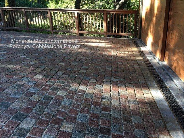 25porphyry cobblestone pavers - Cobblestone Pavers