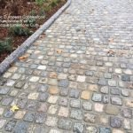 HEC SANDSTONE cobble 6x6x2 Limestone Curb