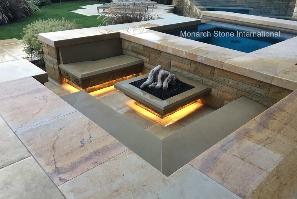 Sunken Fire Pit – Back Yard Entertainment Areas
