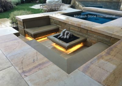 50-Santa Barbara Sandstone, French Limestone Massangis flooring, Buxy Jaune coping-01