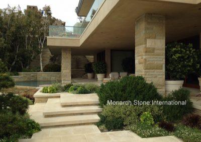 37-French Limestone, Santa Barbara Sandstone